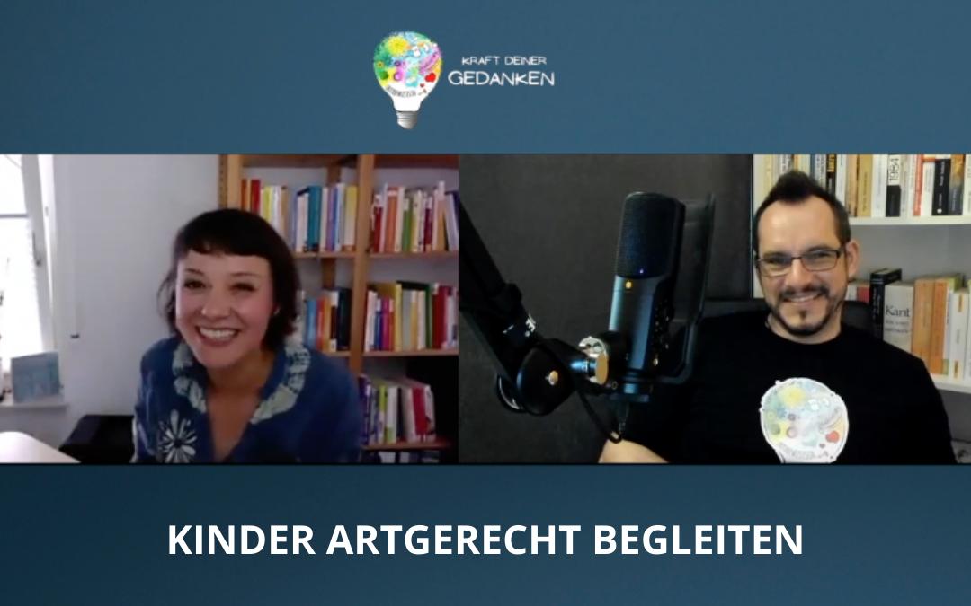 Kinder Artgerecht begleiten – Manuela Festl im Gespräch