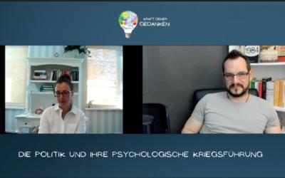 Die Politik und ihre psychologische Kriegsführung – Psychologin Pracher-Hilander im Gespräch